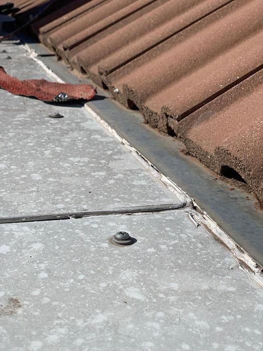 reparacion tejado chapa